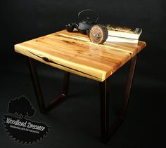 Live Edge Coffee Table Wood Resin  unique  rare plum wood