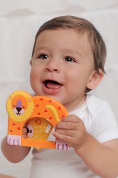 Silli Chews Baby Teethers - Silli Families - Daddy and Leo Lion