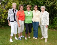 Author Margaret Webb and 4 world record holding runners: I am the youngest by home many years?