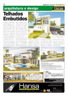 24° Publicação Jornal bom dia – Matéria - Telhados Embutidos  10-02-12