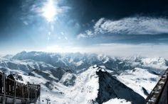 Download French Alps Mountain Widescreen & HD Wallpapers From High Quality Resolution For Your Desktop Background