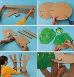 Дерево из картона - Сайт для мам малышей