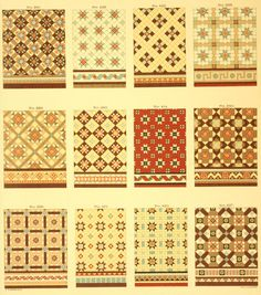I Been Digging Thru Period Catalogs Again Ran Across A Color Minton Tile Catalog From C 1905 That Is Quite Stunning