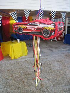 Piñatas Hot Wheels