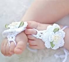 free crochet patterns for baby footless sandals - Google Search