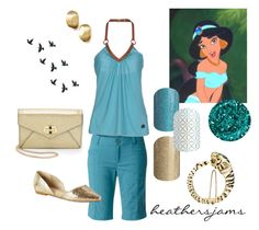 """Walt Disney World Jasmine inspired"" by heathersjams ❤ liked on Polyvore featuring Diane Von Furstenberg, Disney, Marco Bicego, Fountain, Royal Robbins, Frankie Morello, BC Footwear and David Webb"