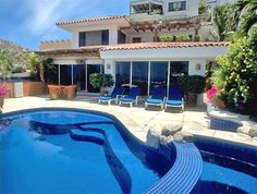 Villa Deanna is a 4 Br Rental in Pedregal, Cabo San Lucas with Swimming Pool