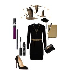 Untitled #80 by campanellinoo on Polyvore featuring polyvore, fashion, style, Polo Ralph Lauren, Christian Louboutin, Balenciaga, Lana, Lanvin, Yves Saint Laurent, NARS Cosmetics, Parker, Universal Lighting and Decor and Kate Spade