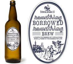 Something Borrowed, Something Brew - Wedding Beer Labels