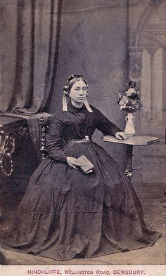 A Widow of Dewsbury, Albumen Carte de Visite, Circa 1865 | Flickr - Photo Sharing!