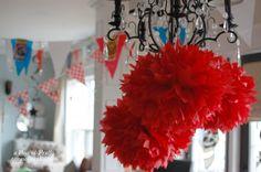 A Pop of Pretty: Canadian Decorating Blog - http://apopofpretty.com/broadway-party-theme-ideas/