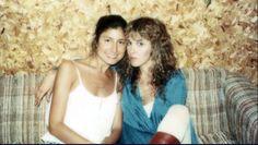 Sharon Celani and Stevie Nicks