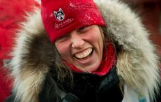 Aliy Zirkle; Iditarod/Yukon Quest Musher - All around 200% lovely lady!!  GO ALIY!!