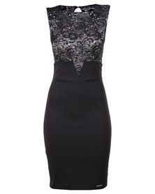 Perfect Fit Grand One Dress Black Formal Dress Shops, Formal Wear, Formal Dresses, Showcase Design, Lace Bodice, Dress To Impress, White Lace, Perfect Fit, Evening Dresses