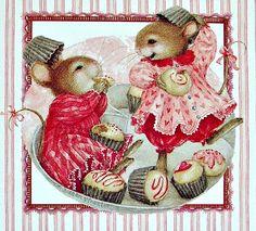 Cute mouse illustration, Susan Wheeler