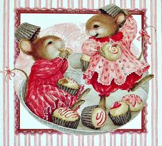 Cute mouse illustration, Susan Wheeler