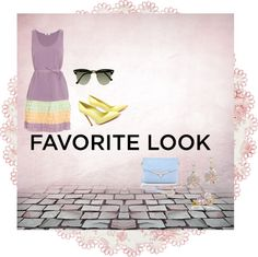 """""""Pastel! 60s' Style!"""" by quddsia-basharat ❤ liked on Polyvore"""