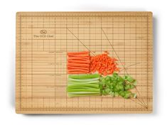 if you don't know the difference between a dice, julienne, or brunoise, try a cutting board with measurements to tell you exactly what you need to know.Amazon $23.82