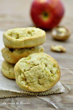biscotti alle mele e noci
