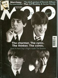 The Beatles Cover Mojo Magazine 2002 John Lennon Paul McCartney George Harrison