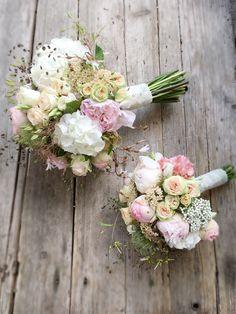 Blumen # Bridal bouquet - bridal bouquet vintage pastel romantic Bridal b Vintage Bridal Bouquet, Cascading Bridal Bouquets, Silk Bridal Bouquet, Silk Wedding Bouquets, Blush Wedding Flowers, Dusty Rose Wedding, Bridal Flowers, Marie, Decoration
