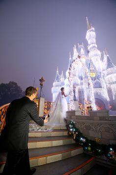 Walt Disney Wedding My real life Prince Charming