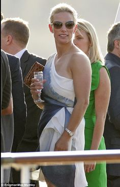Zara Phillips wedding to Mike Tindall: Kate Middleton joins Royal Yacht Britannia party | Mail Online