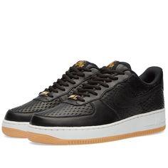 Nike W Air Force 1 '07 Premium (Black & Summit White)