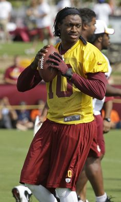 RG3 Redskins Training Camp 2013