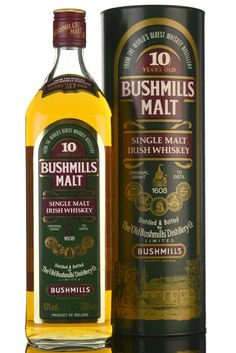Bushmills 10 Year Old Single Malt Irish Whiskey, Oldest Whiskey, Scotch Whiskey, Bourbon Whiskey, Blended Whisky, Whisky Bar, Bourbon Drinks, Home Brewing Beer, Abandoned Mansions