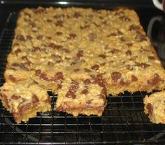 Chocolate Peanut Butter Bars ~ Recipe of today