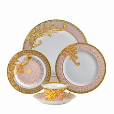 Byzantine Dreams Five-piece Placesetting by Versace for Rosenthal!!!!! wow