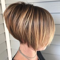 50 Brand New Short Bob Haircuts and Hairstyles for 2020 Hair Adviser - Kurz haare Medium Short Haircuts, Short Hair Cuts, Short Hair Styles, Short Stacked Bob Haircuts, Short Bob Cuts, Short Men, Layered Haircuts, Sleek Hairstyles, Short Bob Hairstyles