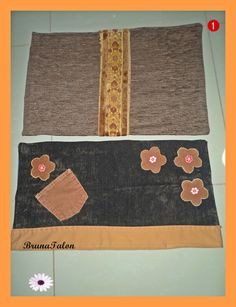 Tapetes customizados de restos de tecidos de sofá (Bruna Talon)