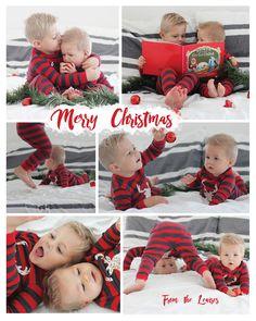 christmas-card-2016-for-blog! #christmas #cards #pajamas #kids #ideas