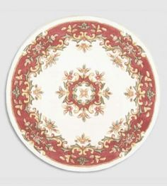 Crown circle 02:-  The traditional old style Crown collection of rugs is the pinnacle of mixing vintage chic with todays contemporary look.  PriceForm £94.00