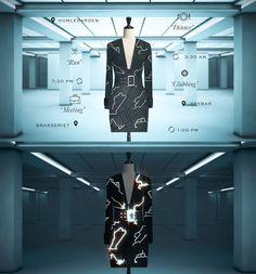 Coded Couture - Crie vestidos personalizados com base nos dados de seu smartphone stylo urbano #moda #tecnologia