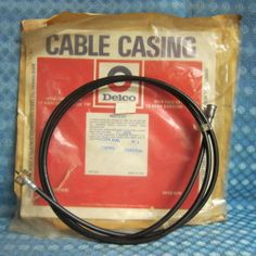 """https://www.texasnos.com/shop/gauges/speedometer-cable-casing-assembly-4wd-1978-84-chevrolet-gmc-truck-1979-1980-1981-1982-1983-1984/  This is a NOS* Speedometer Cable & Casing Assembly: $24.99   1978 - 1984 Chevrolet & GMC K2, K3 (¾ & 1 Ton, 4WD) (Ex. Cruise Control)   Made in USA Manufactured by Delco-Remy Div., Anderson Indiana Group # 4.342 Part # 25032661 Other Part # CC1029  For a 10% discount, please use #coupon code """"10off"""" at #checkout (excludes sale items)"""