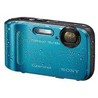 Câmera Digital 16.1 MP à Prova d'água e choques- DSC-TF1 Azul   Câmeras digitais compactas: Todos os modelos   Câmeras & Filmadoras   Sony S...