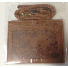 Pokemon Center 2014 Vulpix Butterfree Eevee Togepi & Friends Silhouette ID Card Case (Brown)