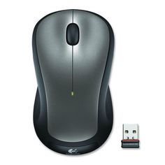 ddf18035a09 New Logitech Wireless Mouse M310 Optical Gray For PC Mac #Logitech Logitech,  Ergonomic Mouse