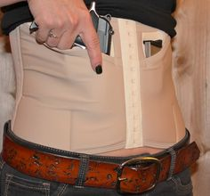 Chic Concealed Carry Holster By Dene Adams SLIM Naked now on SALE for only $75!