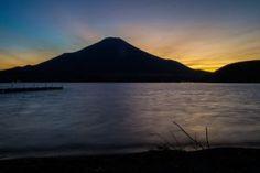 Sunset at Mount fuji Japan