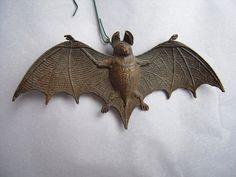 Antique Dresden Bat