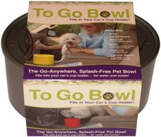 Furry Travelers To Go Pet Bowl, Silver - http://www.thepuppy.org/furry-travelers-to-go-pet-bowl-silver/