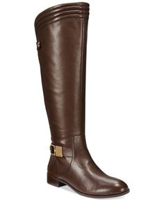 Anne Klein Kaydon Riding Boots Shoes - Boots - Macy s aad17174207d8