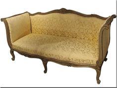 Antik bútorok felújítása Love Seat, Couch, Furniture, Vintage, Home Decor, Antique Furniture, Hungary, Settee, Decoration Home