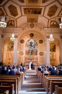 So beautiful!!! Assumption Catholic Church in Chicago, IL. If only non-Catholics could marry in a Catholic church!