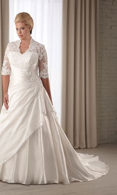 plus size wedding dress, I absolutely love this dress!!!!