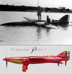 Schneider Trophy special: Cowes, 1929  The oddest and most unconventional contender - probably for any aerial competition - was the Piaggio-...